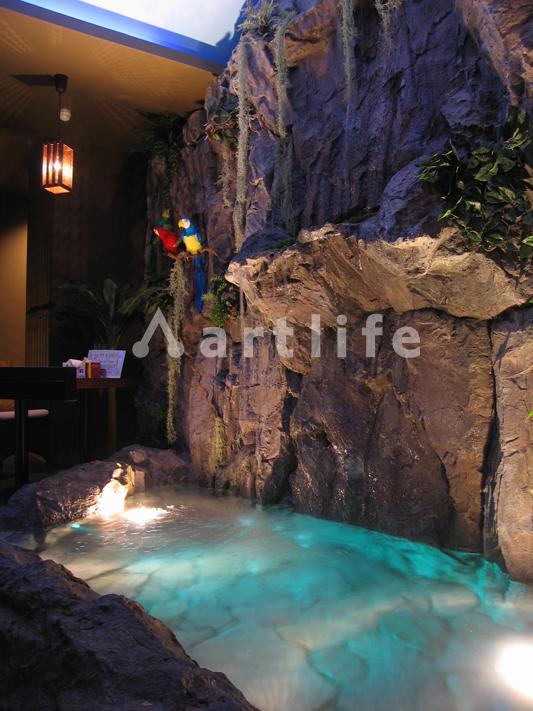 カフェ FRP製擬岩