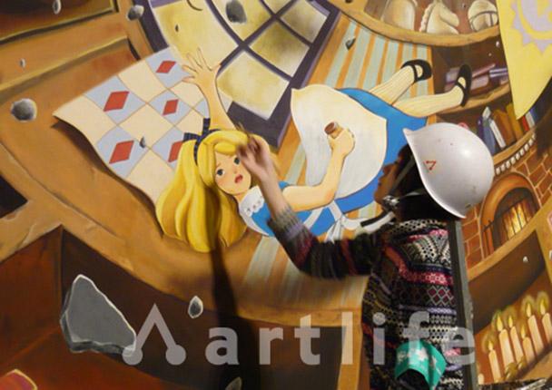 かごしまメルヘン館 壁画