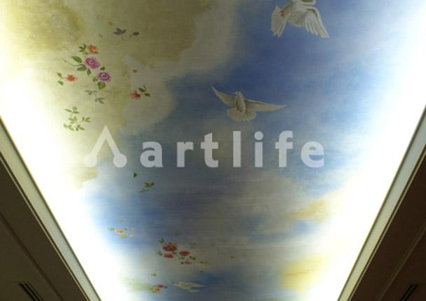ホテル 天井画