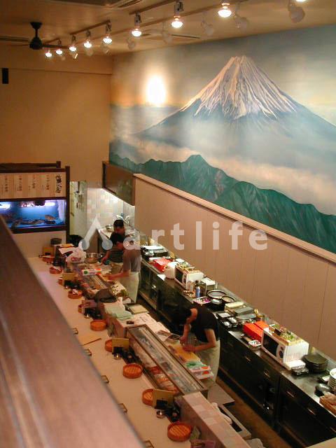 飲食店 壁画