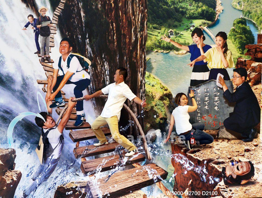 「MBSちちんぷいぷい」4000回記念 大感謝祭_吊り橋