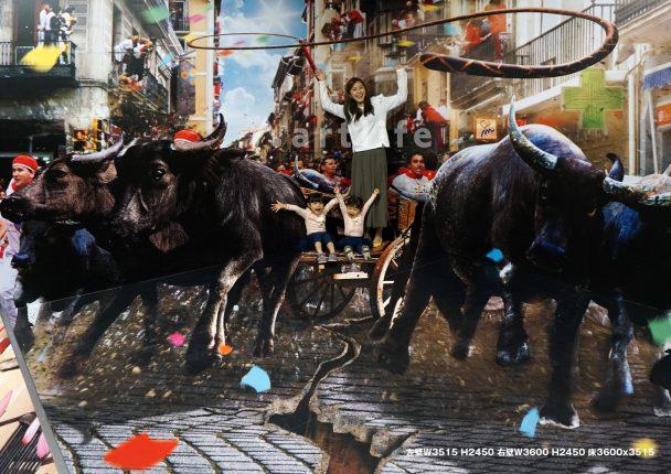 志摩スペイン村パルケエスパーニャ「牛追い祭り」
