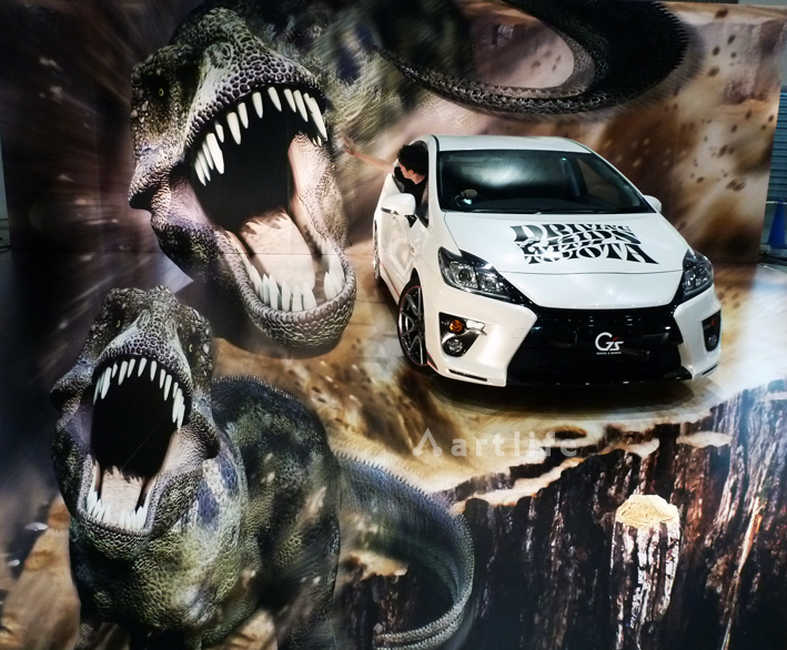 福島ビックパレット DRIVING KIDS with TOYOTA_恐竜