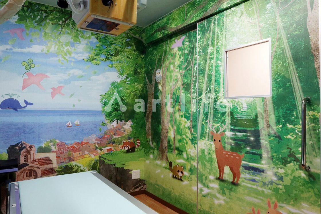 はしむら小児科 院内壁画