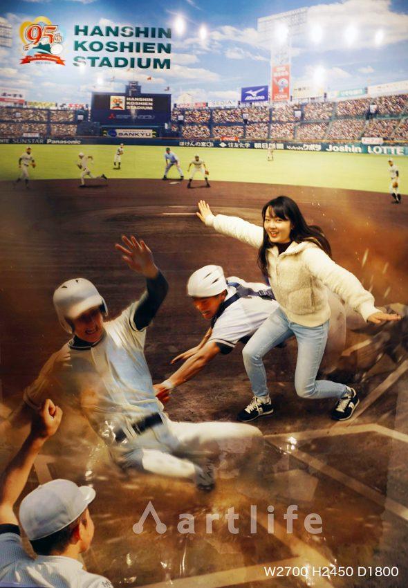 阪神甲子園球場 甲子園歴史館2019「セーフ!」