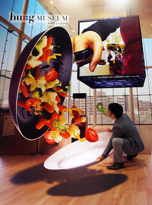 大阪ガス「食と住まいの情報発信拠点」ハグミュージアム『巨大スクリーン』