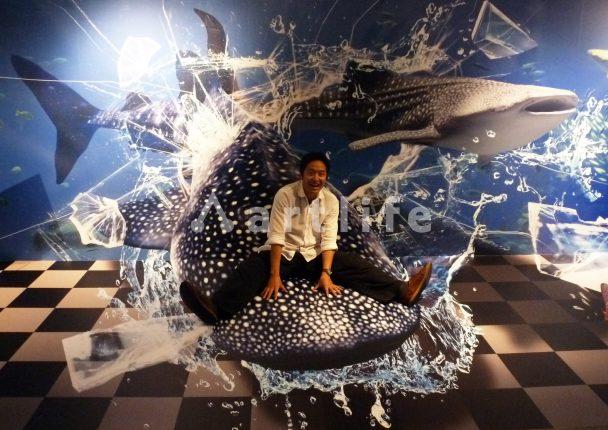 沖縄TRICK TRI「ジンベイザメ」